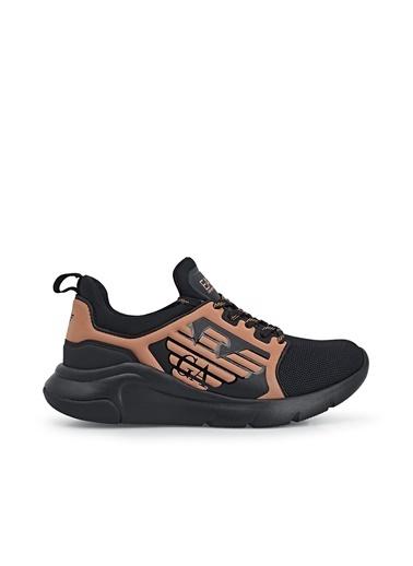 Emporio Armani  Sneaker Ayakkabı Kadın Ayakkabı S X8X057 Xcc55 A687 Siyah